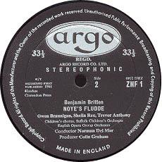 古典黑胶唱片标签之ARGO