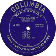 古典黑胶唱片标签之Columbia
