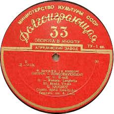 古典黑胶唱片标签之Melodya