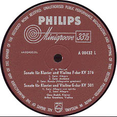 古典黑胶唱片标签之Philips