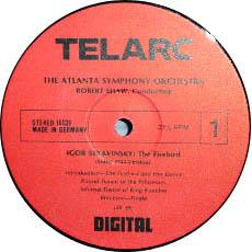 古典黑胶唱片标签之TELARC