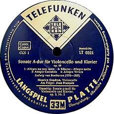 古典黑胶唱片标签之TELEFUNKEN