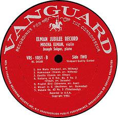 古典黑胶唱片标签之VANGUARD