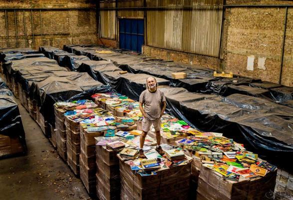 巴西收藏家拥有世界上最多的黑胶唱片
